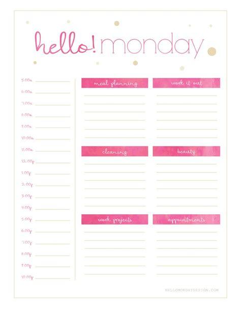 printable planner agenda 168 best printable planners images on pinterest