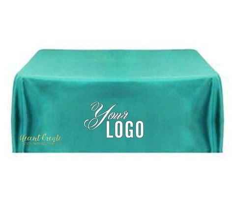 6ft tablecloth logo personalized table cloth vendor