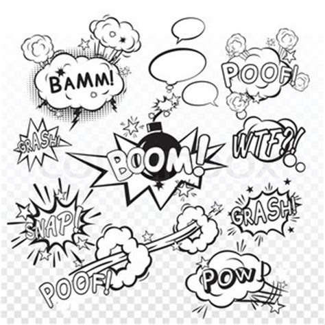 clipped bang poof poof clipart clip vector colourbox