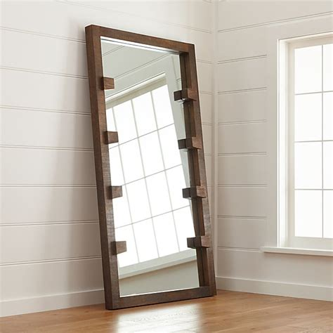 floor mirror ladder stilt floor mirror reviews crate and barrel