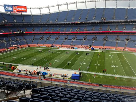 sports authority field sections sports authority field section 306 rateyourseats com