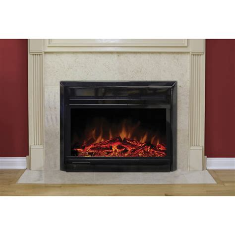 Paramount Electric Fireplace by Paramount 28 Quot Electric Fireplace Insert Ef 128 5 Black
