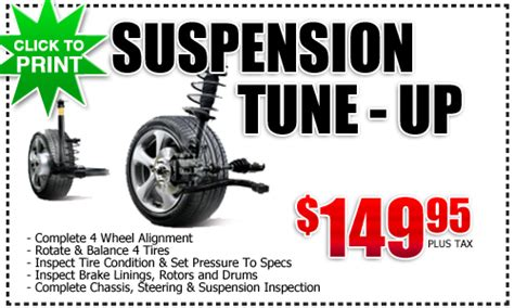 Frank Toyota Service Toyota Suspension Service Special San Diego County
