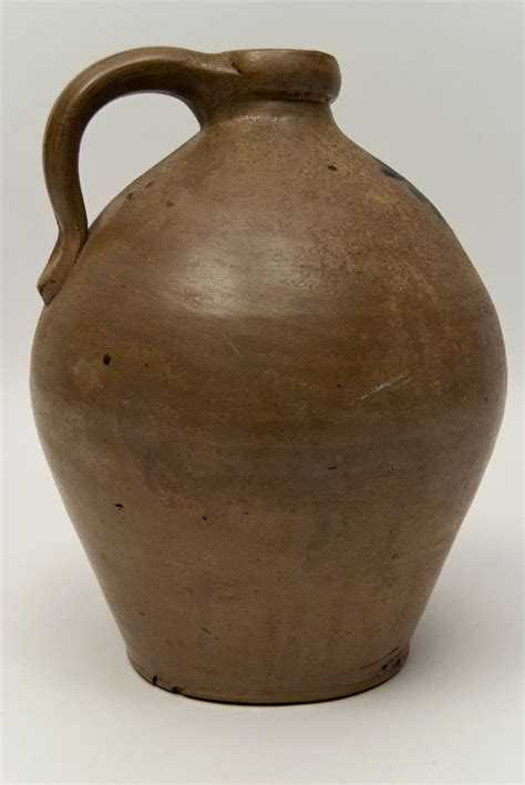 Top 28 Antique Jars Large Antique American Stoneware Top 28 Antique Pottery Ovoid One Gallon Jug With