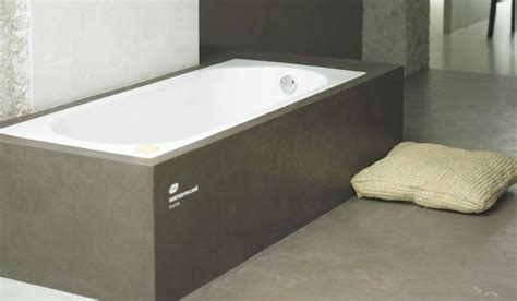 poured concrete bathtub tablier de baignoire d angle obasinc com