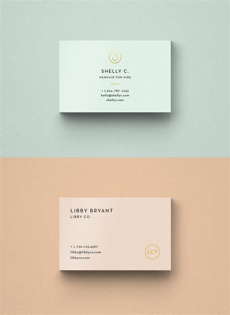 now card template free business card templates libby co boutique branding