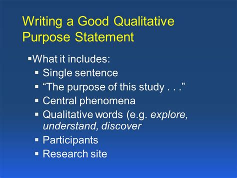 how to write purpose of study in research paper the importance of qualitative research in mixed methods