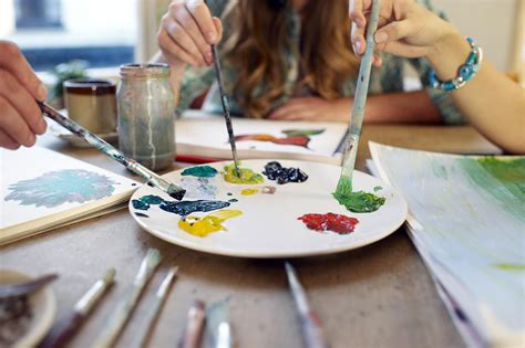 learn to paint in learn how to paint your first ever painting