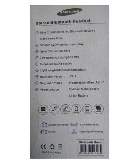 samsung bluetooth i5s samsung i5s bluetooth headset white buy samsung i5s bluetooth headset white at best
