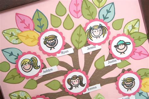 family tree craft project whatchu talkin bout willis fiskars crafting with