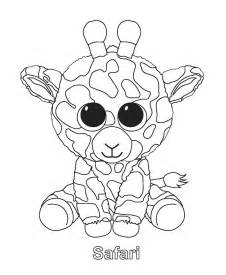 beanie boos coloring pages getcoloringpages