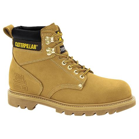 steel toe boots mens caterpillar mens second shift steel toe work boot