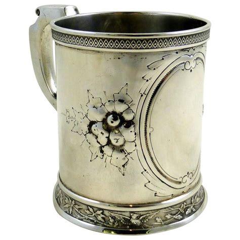 victorian design mug victorian sterling silver baby mug or cup for sale at 1stdibs
