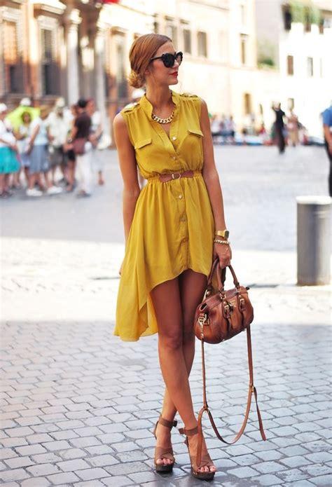 Dress Eprise Mustard как выбрать и с чем носить желтое платье фото