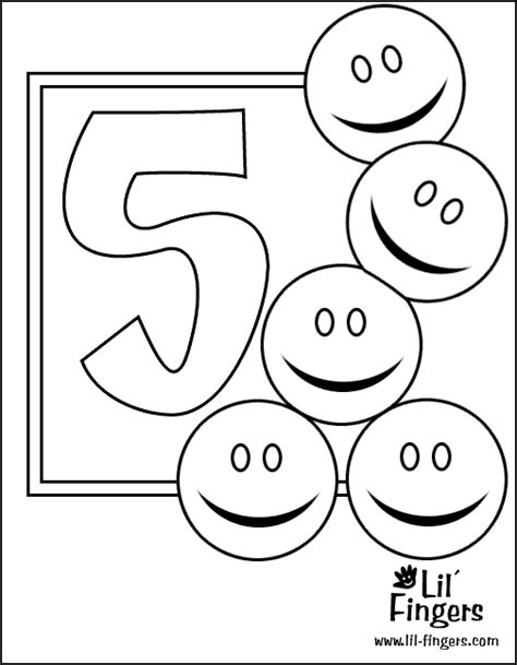 coloring pages of numbers 1 5 numbers coloring pictures for kids