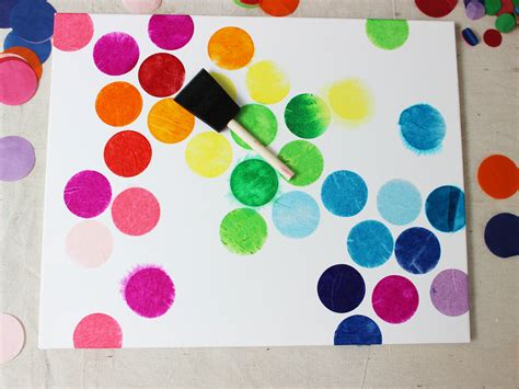 Furball With Scraft tissue paper painting can
