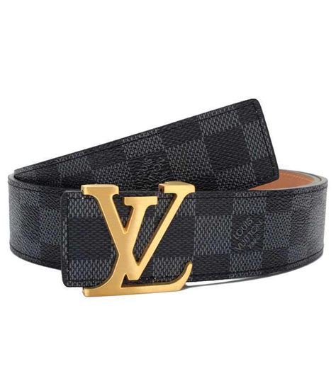 Jual Belt Lv Brown Buckle Gold Mirror Quality louis vuitton lv s initiales damier brown check golden buckle belt buy india