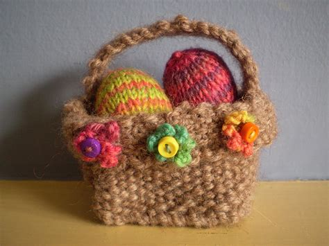 free knitted easter basket patterns last minute easter knitting patterns in the loop knitting