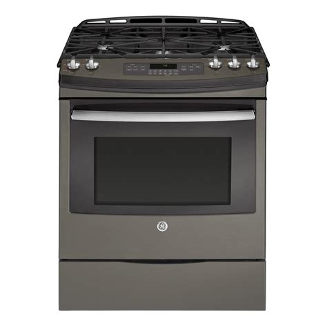 ge kitchen appliances reviews ge appliances jgs750eefes 5 6 cu ft slide in gas range