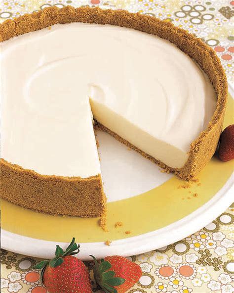 no bake cheesecake recipe martha stewart