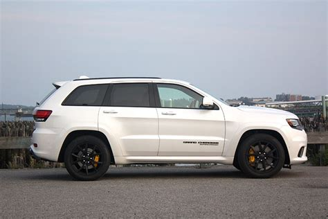trackhawk jeep white review 2018 jeep grand trackhawk supercharges