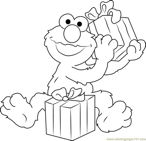 elmo coloring pages happy birthday happy birthday elmo coloring page free sesame street