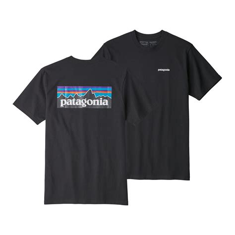 T Shirt L A P D 6 patagonia s p 6 logo responsibili t shirts