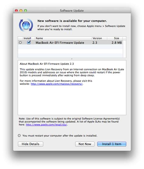 how to update macbook pro software apple updates efi firmware on 2010 macbook pros airs and