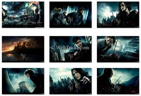 themes for windows 7 harry potter download harry potter 7 theme for windows 7