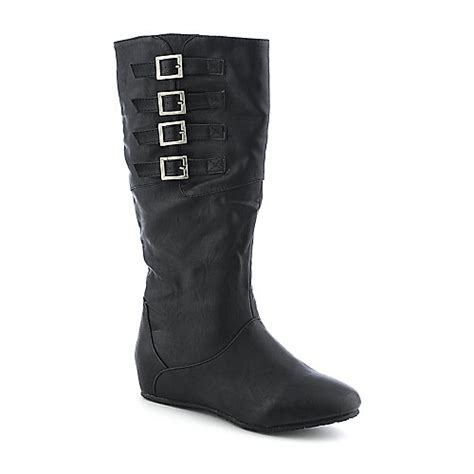lounge candies 81 womens mid calf boot