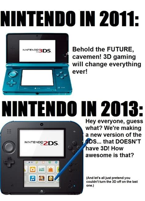 Nintendo Memes - the internets response to the nintendo 2ds rice digital