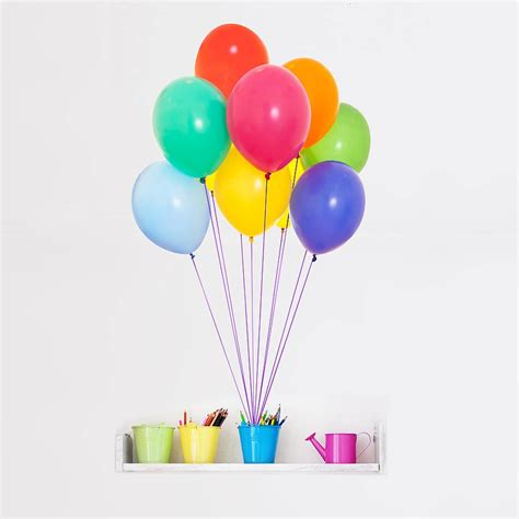balloon wall stickers colourful balloons wall sticker wall wallpaper
