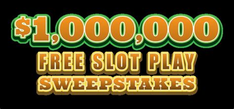 Sweepstakes Slot Machines - free slots sweepstakes