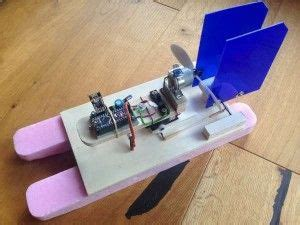 rc boat using arduino rc boat with nrf24l01 and arduino electronics projects