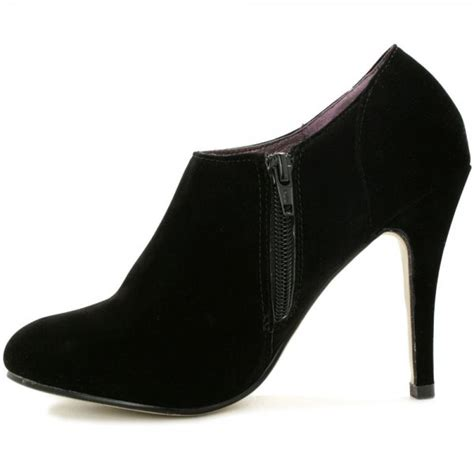 buy stiletto heel ankle boots black