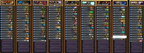 best decks hearthstone basic only decks by hearthstone