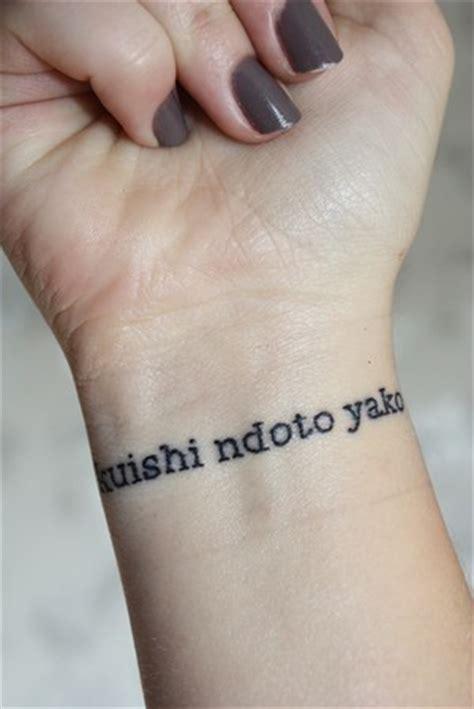 wrists tattoologist