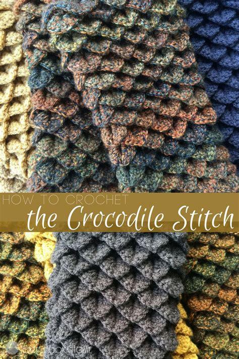 crocodile stitch knit pattern best 25 crochet stitches ideas on crotchet
