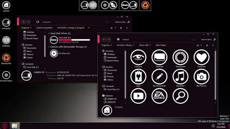 zune theme for windows 10 zune skinpack for win7 skinpack customize your digital