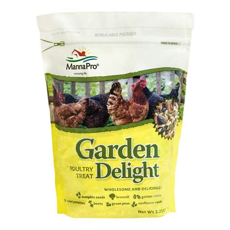 garden delight poultry treat manna pro products llc