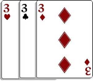 rule changes for 3 card brag tourney nerve center