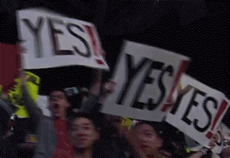 Yes Meme Gif - daniel bryan yes infinite yes yes know your meme