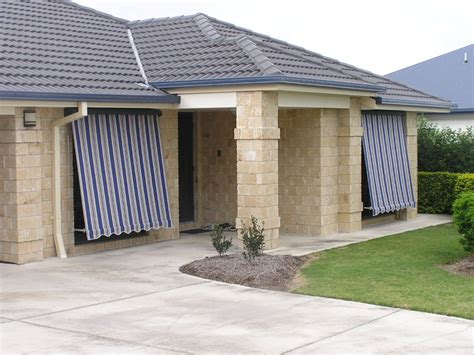 outdoor awning blind canvas blinds awnings melbourne shadewell awnings blinds