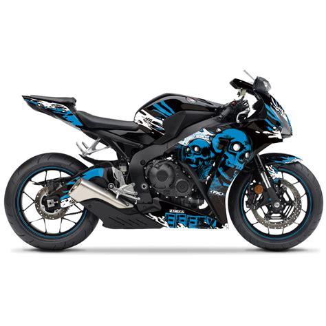 Cutting Stiker Suzuki Sport Windshield fx skull sport bike pre cut graphics wrap kit for honda
