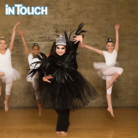 dance moms abby lee miller as a dancer abby lee miller dance moms black swan in touch weekly