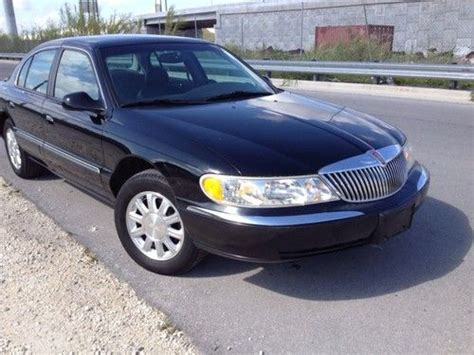 99 lincoln continental purchase used 1999 98 99 00 01 lincoln continental base