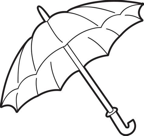 coloring page of umbrella girl with umbrella coloring page coloring pages
