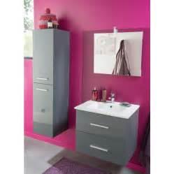 meuble salle de bain nisa gris anthracite 60cm n c chez