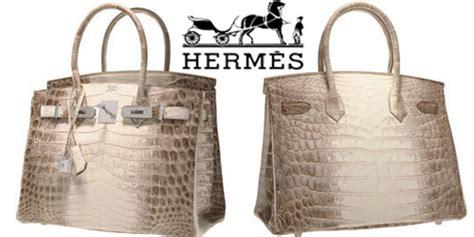 Harga Tas Merk Crocodile tas kulit buaya putih dari hermes ini dilelang seharga rp
