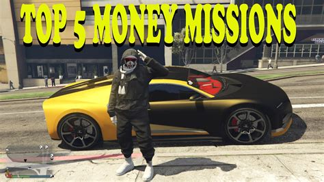 Gta Online Money Making Missions - gta 5 online top five fastest money making missions new method how to make money